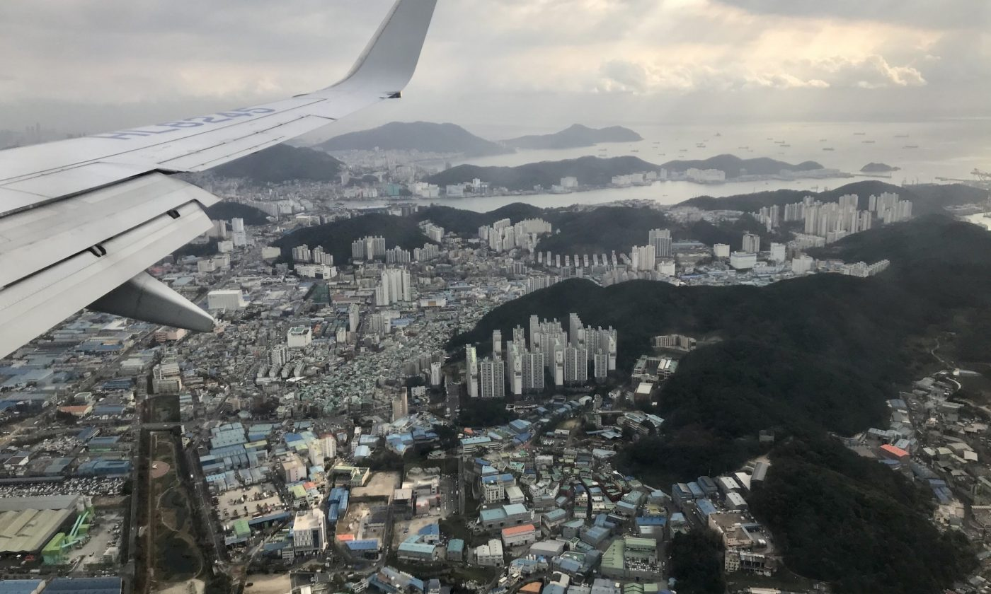 Flying over Korea 2019